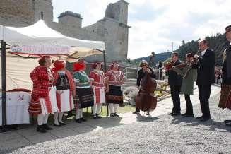 Ostern in der Burg Diósgyőr