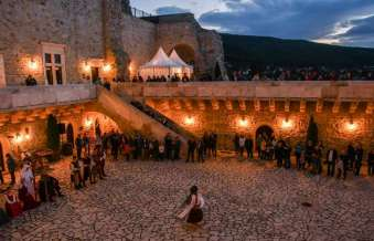 Midsummer Night in the castle of Diósgyőr