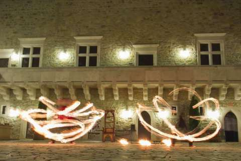 LOVE, LOYALTY, INTRIGUE - MYSTERIOUS NIGHT INT THE CASTLE OF DIÓSGYŐR