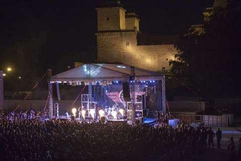 Tankcsapda koncert a Lovagi Tornák Terén