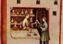 The queen's medieval perfume