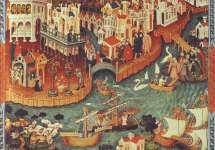 Velence XV. századi látképe